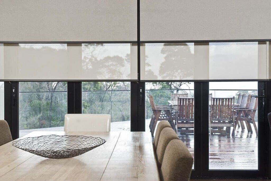 double roller blinds seperated
